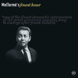 Mel Torme's Finest Hour Product Image