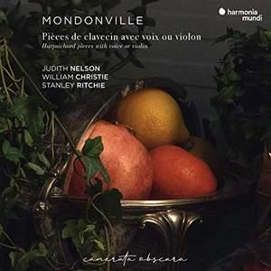 Mondonville: Pièces de clavecin avec voix ou violon