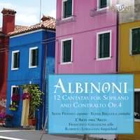 Albinoni: 12 Cantatas for Soprano and Contralto Op. 4