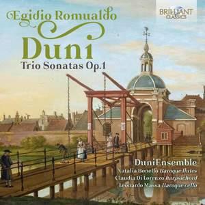 Egidio Romualdo Duni: Trio Sonatas Op. 1 Product Image