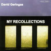 My Recollections - Works for Violoncello & Piano