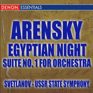 Arensky: Egyptian Night Ballet Suite