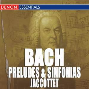 J.S. Bach: Preludes and Sinfonias