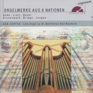 Orgelwerke aus 6 Nationen