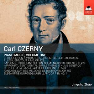 Czerny: Piano Music, Volume One
