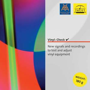 New Signals And Recordings To Test And Adjust Vinyl Equipmen