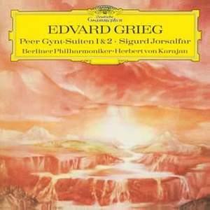 Grieg: Peer Gynt Suite Nos.1 & No.2 & Sigurd Jorsalfar - Vinyl Edition