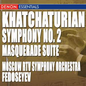 Khatchaturian: Masquerade Suite - Symphony No. 2 Product Image