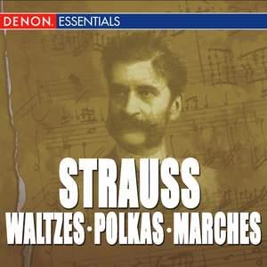 Great Strauss Waltzes, Polkas & Marches: Cesare Cantieri & The Viennese Folk Opera Orchestra