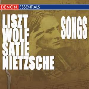 Nietzsche - Liszt - Wolf - Satie - Poulenc: Songs