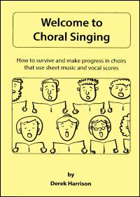 Welcome to Choral Singing