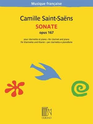 Camille Saint-Saëns: Sonate Opus 167