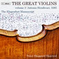 The Great Violins, Vol. 3: The Klagenfurt Manuscript