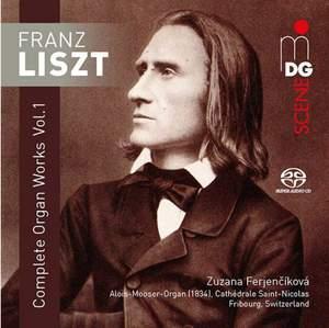 Franz Liszt: Complete Organ Works Volume 1 Product Image
