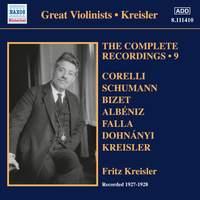Kreisler Recordings, Vol. 9