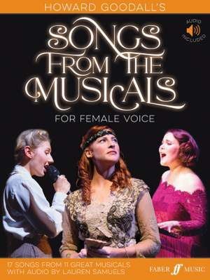 Howard Goodall's Songs from the Musicals for Female Voice Product Image