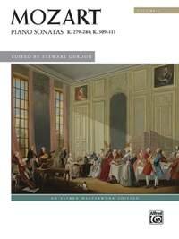 Mozart Piano Sonatas Volume 1 (Alfred Masterwork Edition)