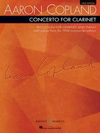 Copland, A: Concerto for Clarinet