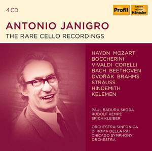 Antonio Janigro - The rare Cello Recordings