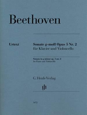 Beethoven: Sonata in g minor op. 5/2