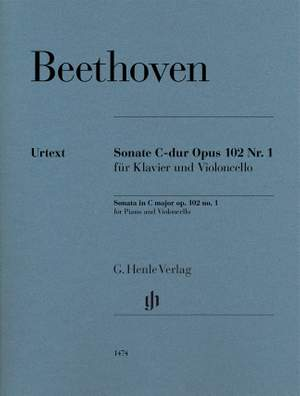 Beethoven: Sonata in C major op. 102/1