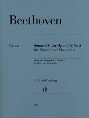 Beethoven: Sonata in D major op. 102/2