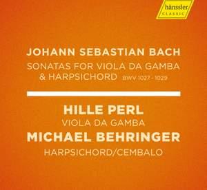 J.S. Bach: Viola da gamba Sonatas, BWVV 1027-1029 Product Image