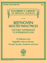 Beethoven: Selected Piano Pieces: Early Intermediate to Intermediate Level