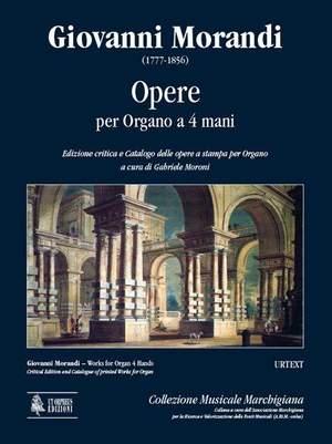 Giovanni Morandi: Opere Per Organo a 4 Mani