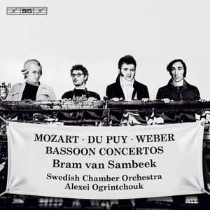Mozart, Du Puy & Weber: Bassoon Concertos Product Image