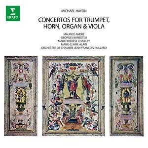M. Haydn: Concertos for Trumpet, Horn, Organ & Viola