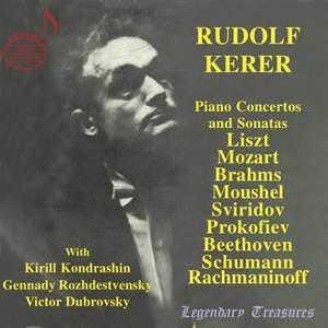 Rudolf Kerer, Vol. 1: Piano Concertos & Sonatas Product Image