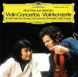 Berg & Stravinsky: Violin Concertos