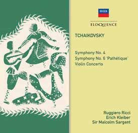 Tchaikovsky: Symphonies Nos. 4 & 6 and Violin Concerto