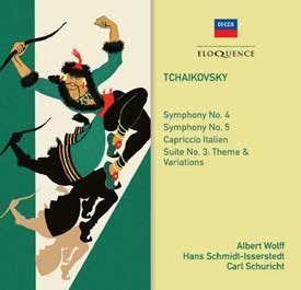 Tchaikovsky: Symphonies Nos. 4 & 5