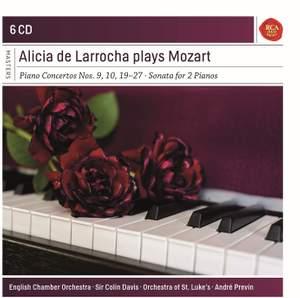 Alicia de Larrocha Plays Mozart