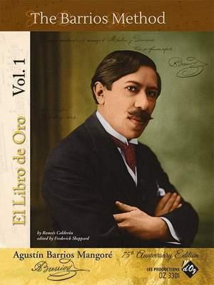 Agustin Barrios Mangoré: El Libro De Oro Vol. 1 Product Image