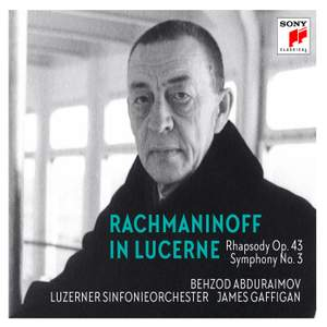 Rachmaninoff in Lucerne Product Image