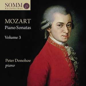 Mozart: Piano Sonatas, Vol. 3