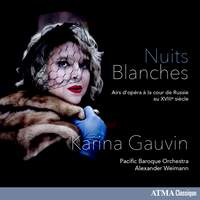 Nuits blanches: Opera Arias at the Russian Court of the 18th Century