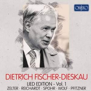 Dietrich Fischer-Dieskau: Lied Edition, Vol. 1 Product Image