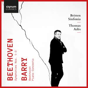 Beethoven: Symphonies Nos. 1-3 & Barry: 'Beethoven' & Piano Concerto Product Image