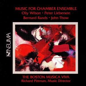 Music for Chamber Ensemble Product Image