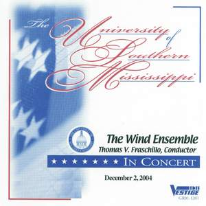 The University of Southern Mississippi Wind Ensemble in Concert, 12-02-04