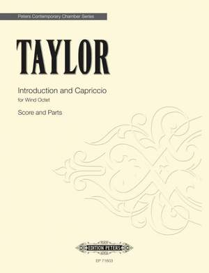 Taylor, Matthew: Introduction and Capriccio