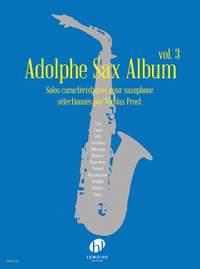 Prost, Nicolas: Adolphe Sax Album Vol.3 (saxophone)