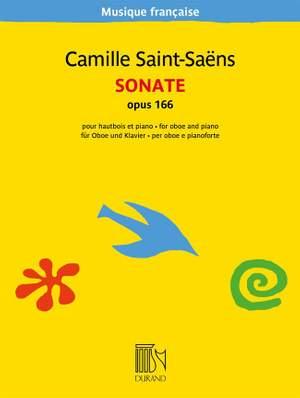 Camille Saint-Saëns: Sonate opus 166