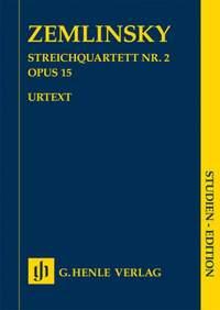 Alexander Zemlinsky: Streichquartett Nr. 2 Opus 15
