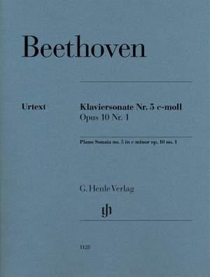 Beethoven, L v: Piano Sonata No. 5 c minor op.10/1 Product Image