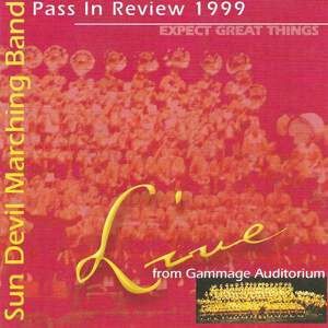 Sun Devil Marching Band Pass In Review 1999 Product Image